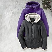 sherpa trim jacket 5