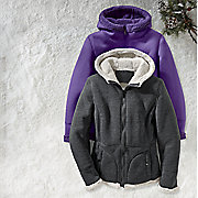 Sherpa Trim Jacket