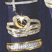 diamond heart ring 139