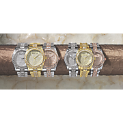 Personalized Crystal Bracelet Watch