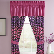 animal ombre window treatments