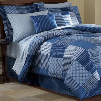 Ellington Blue Complete Bedroom Set From Through The