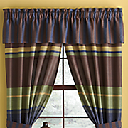 chester stripe window treatments