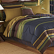 chester stripe complete bedroom set
