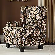 sanderson wingback armchair