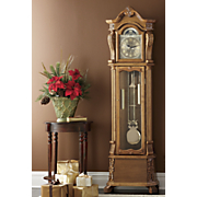 Solid Wood Grandfather Clock