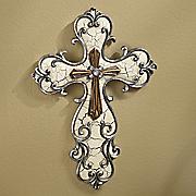 inspirational scroll cross