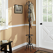 Scroll Coat Rack