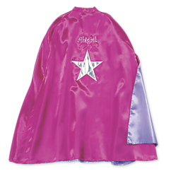 reversible cape pink star