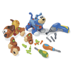 create   play animals with electronic screwdriver