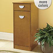 pull down cabinet trash bin