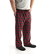 plaid fleece pant 63