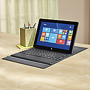 "10"" Quad-core Tablet with Windows 8.1, Office and Docking Keyboard"