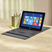 10 inch Quad core Tablet with Windows 8 1 Office and Docking Keyboard