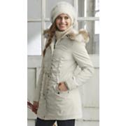 storm coat with hood