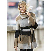 Belted Ombre Coat