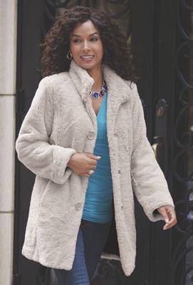 Luxe Faux Fur Coat