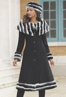 Victoria Hat, Shrug and Coat