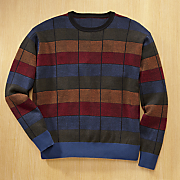 jeweltone colorblock sweater
