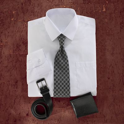Shirt/Wallet/Tie Gift Set