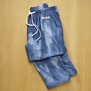 Denim Look Sleep Pant by Stacy Adams