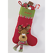 Personalized Roscoe Lighted Stocking
