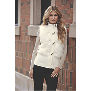 Faux Fur Toggle Vest