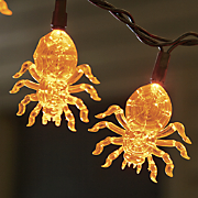 string of 20 led spiders