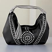 studded hobo bag