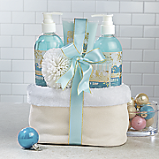 lily and jasmine specialty bath set