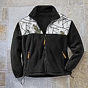 Snow Camo Fleece Jacket