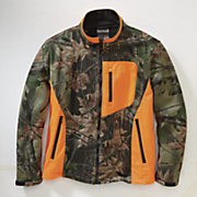 camo soft shell jacket by trail crest