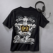 T-Shirt with Headphones by Phat Farm