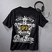 t shirt with headphones by phat farm