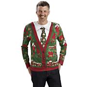 men s ugly sweater   tie tee