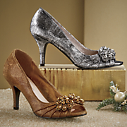 Lucy Metallic Pump by Andiamo