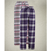 flannel lounge pant 2 pk