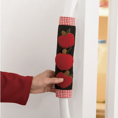 2-Piece Apple Appliance Handle Cover Set