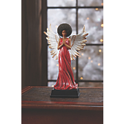 red robed angel