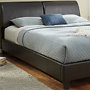 storage headboard bed