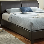 storage headboard bed