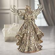gold foiled angel figurine