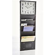 Wall File Clock