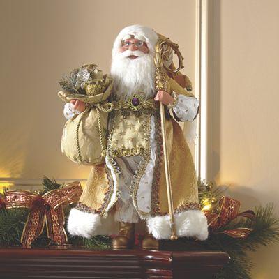 Standing Santa Dcor from Midnight Velvet VG727910