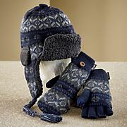 fairisle trapper hat