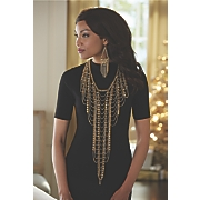 hemisphere chain necklace