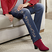 Holiday Beaded Jean