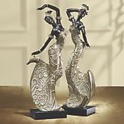 Dancing Woman Figurines