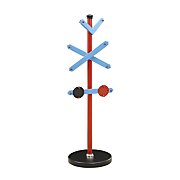 blue tobi coat rack