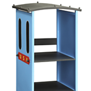 blue tobi bookcase